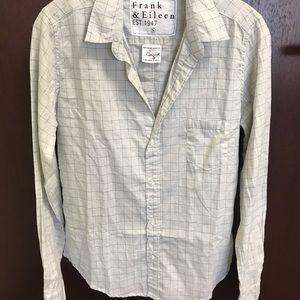 Frank & Eileen Barry linen blouse S BNWOT